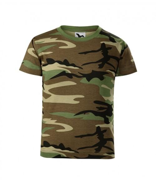 Laste kamuflaaž värvides T-särk