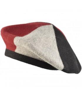 Mitmevärviline barett