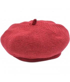 Stiilne villane barett naistele