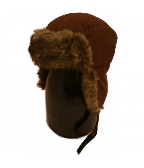 Karusnahast kõrvaklappidega talvemüts